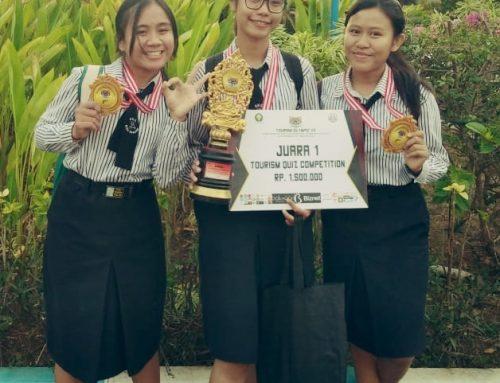 Prestasi Siswa Siswi SMK Wira Harapan dalam lomba Tourism Olympic VII