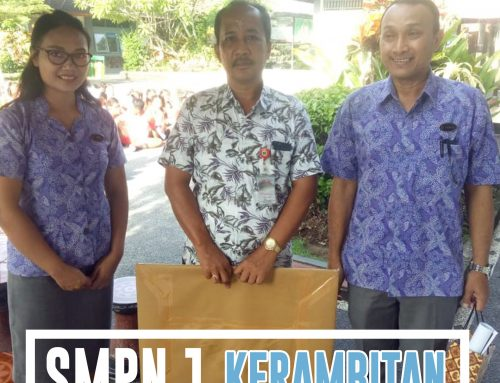 Sosialisasi SMK Wira Harapan Ke SMPN 1 Kerambitan